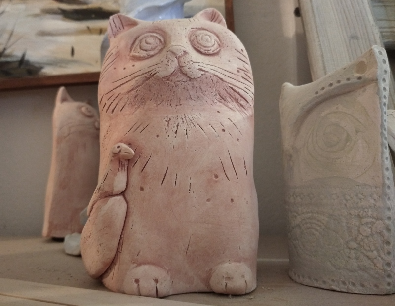 Глиняный кот