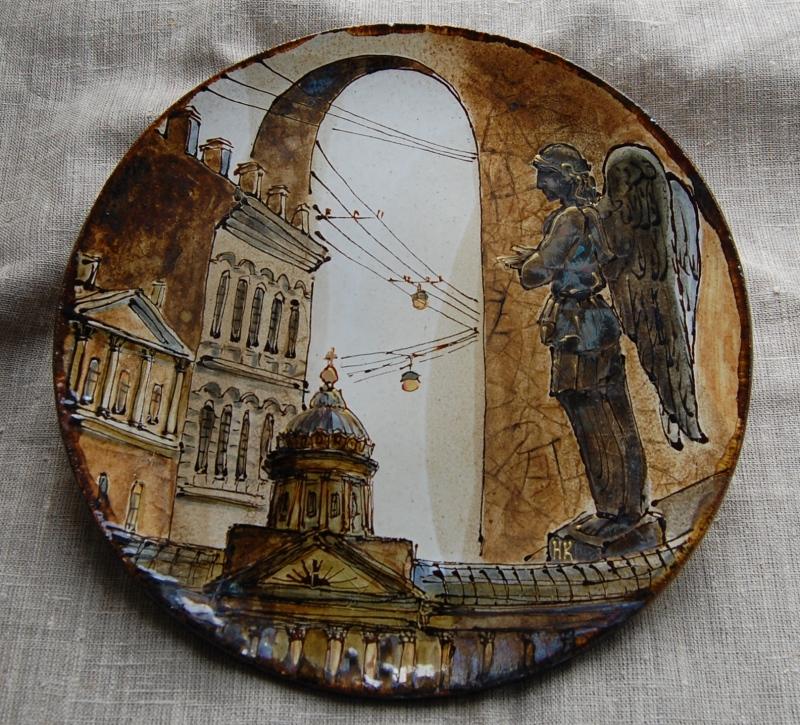 Тарелка с видами СПб