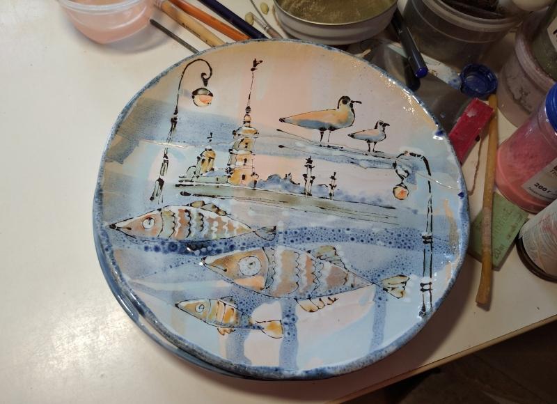 Готовое изделие из керамики
