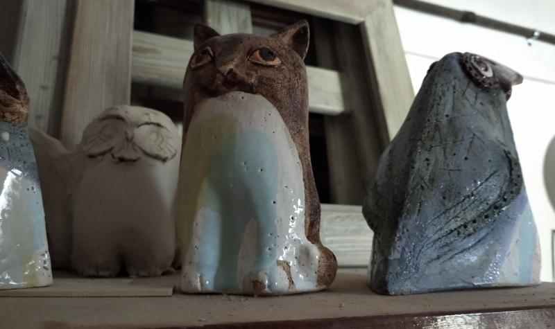 Скульптуры из керамики
