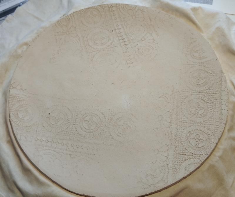 Подготовка тарелки