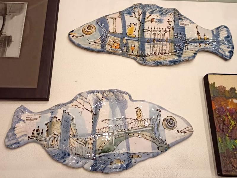 Керамические рыбы