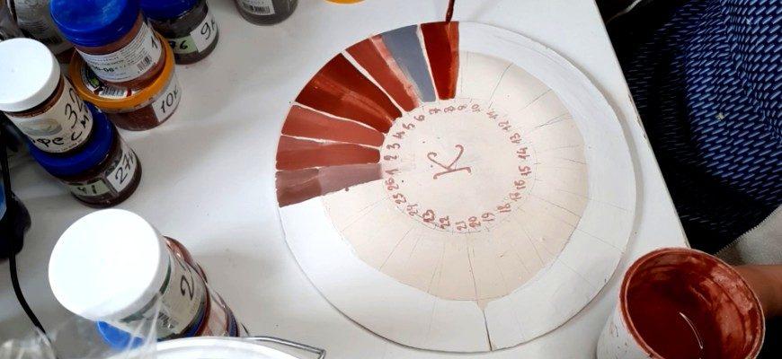 Палитра керамиста