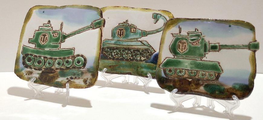 Плакетки с танками WOT