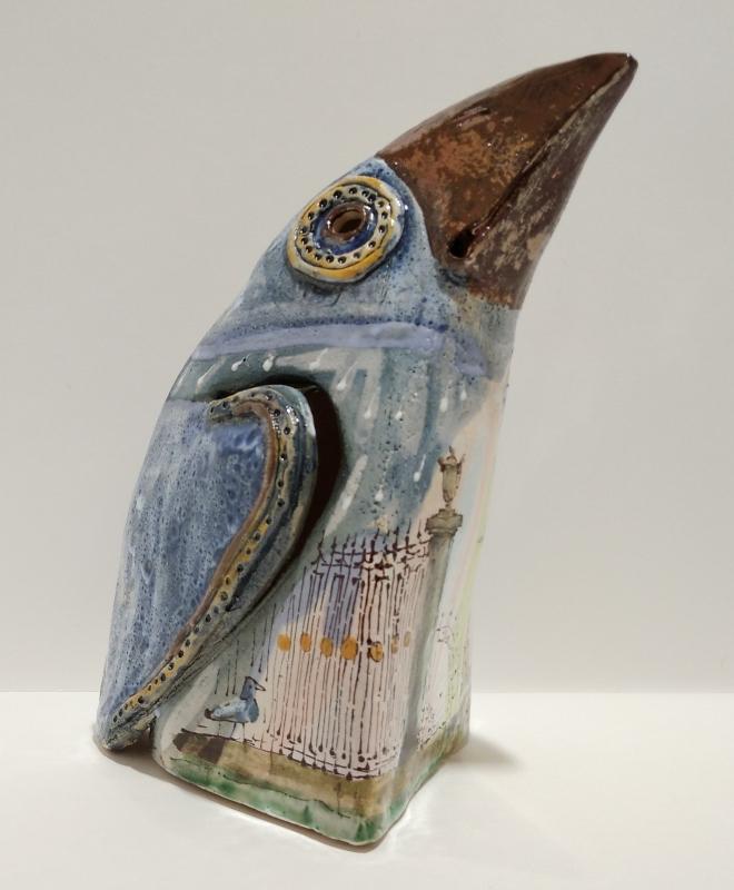 Керамическая ворона