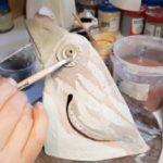 Роспись керамической скульптуры