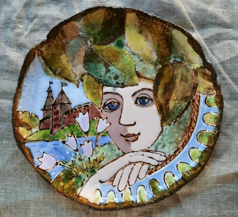 Сувенирный вариант тарелки