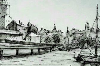 Пленэр в городе Выборге