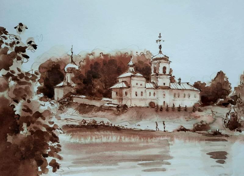 Пейзажи со Пскова