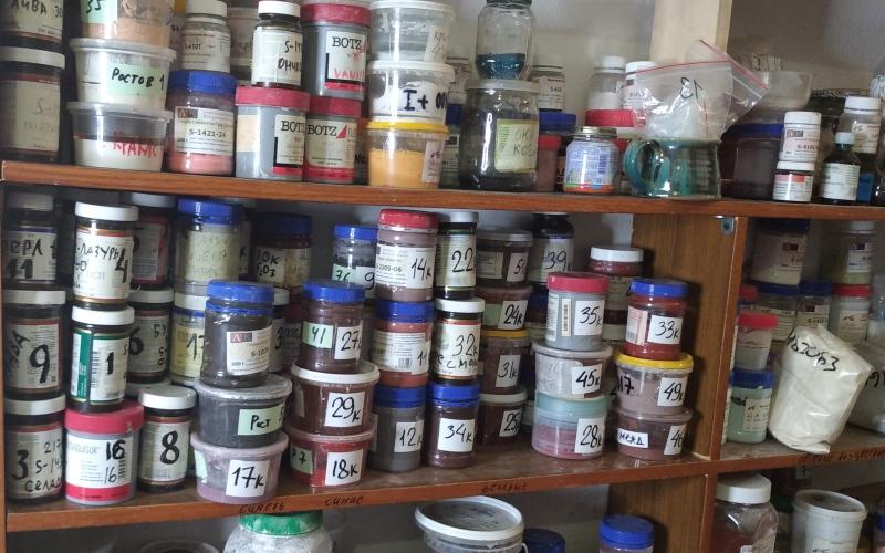 Красители для керамики