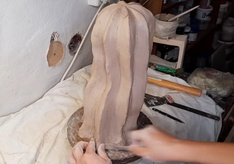 Процесс лепки